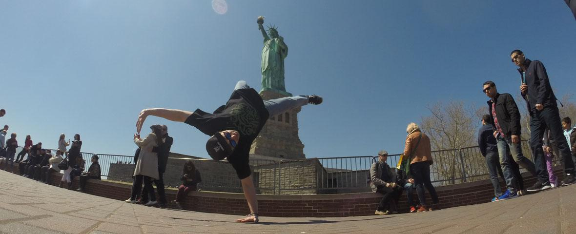 - B.Boy Snook - Airflare in New York